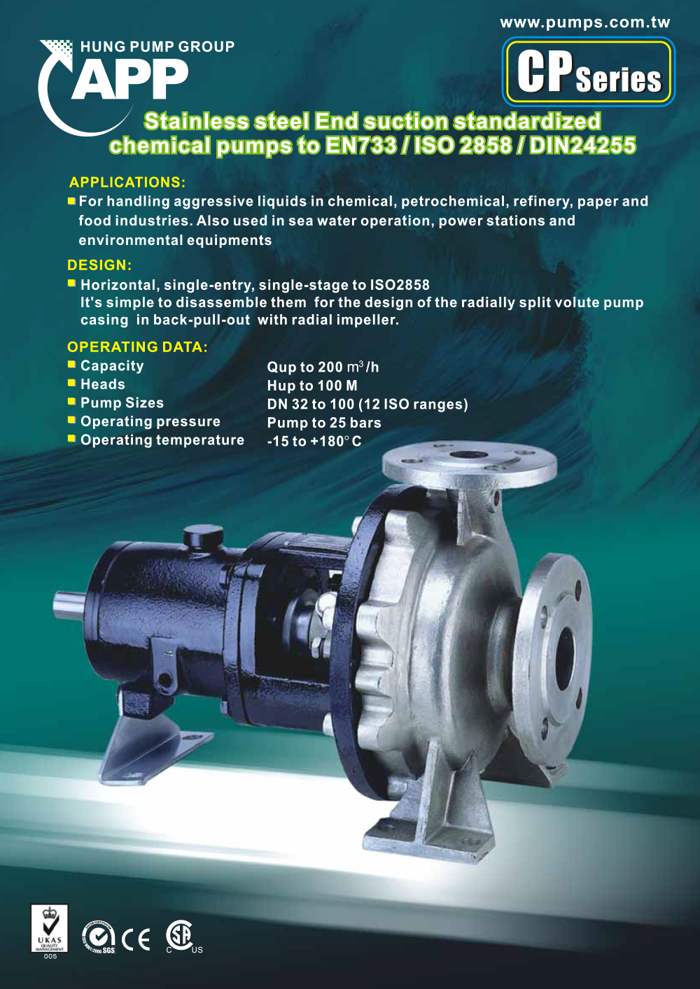 CP CHemical Pump